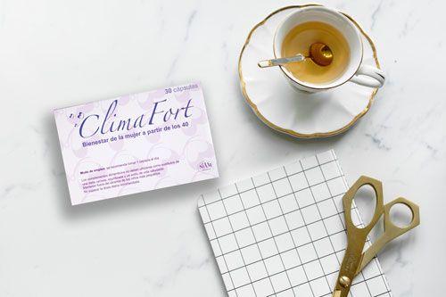 Climafort complemento natural para aliviar los sofocos de la menopausia