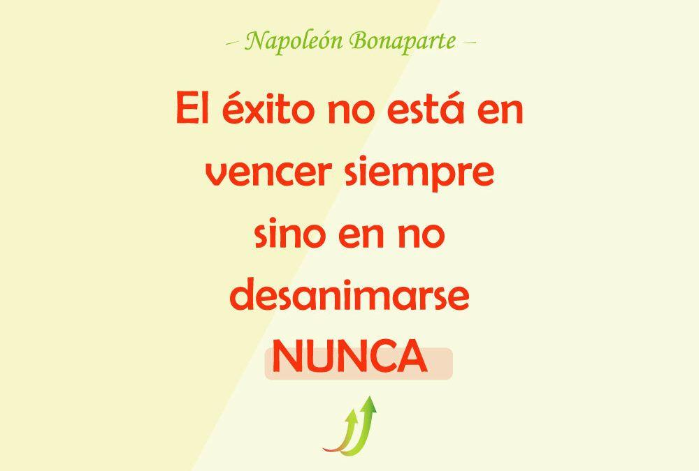 Lo importante es no rendirse nunca