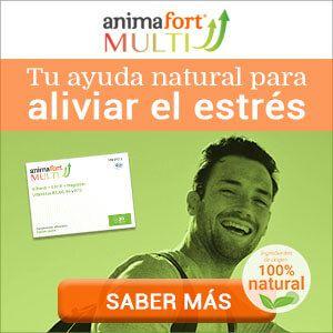 Banner comercial AnimaFort MULTI complemento alimenticio ansiedad
