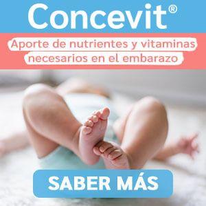 Nutrientes y vitaminas Concevit