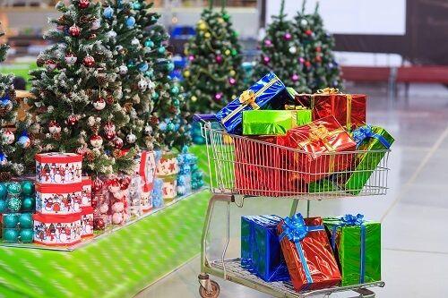 carro regalos navidad