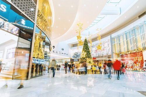 centro comercial navidad