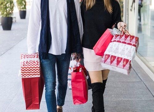 estres en compras de navidad