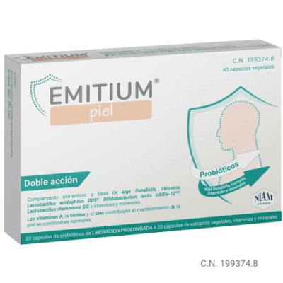 EMITIUM Piel - probioticos psoriasis